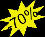 Przecena -70%